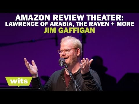 Jim Gaffigan - 'Amazon Review Theater: Lawrence of Arabia, The Raven and more' - Wits