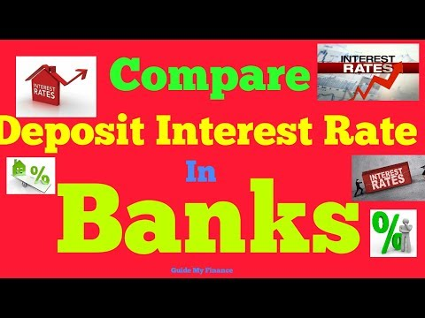 Compare Deposit Interest Rate: Watch Savings Bank & Fixed Deposit Rate Comparison of All Bank