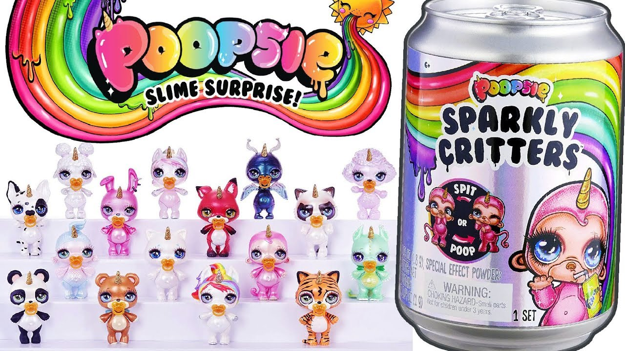 новинка единорожка пупси слайм сюрприз мультик с куклами лол Poopsie Sparkly Critters Slime Surprise
