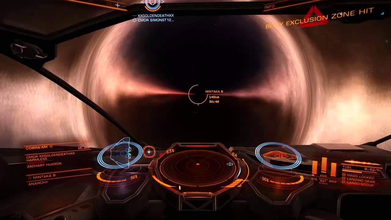 Elite Dangerous large black hole/schwarzes loch (german ...