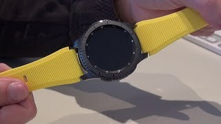 SAMSUNG - Gear S3 frontier - Wristband - MoKo - Yellow - Unboxing - MusicVersion