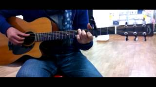[Kim BLue] You're still the one - Shina Twain Guitar 전반부
