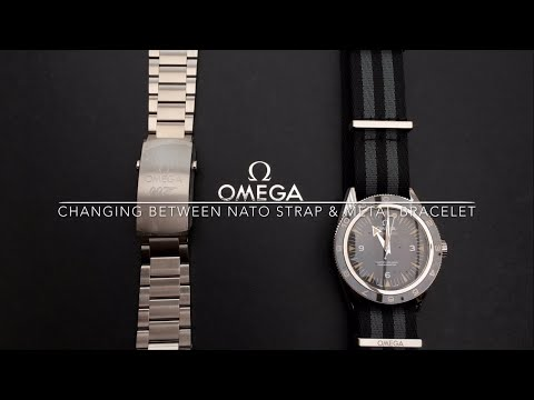 Changing NATO Strap & Metal Bracelet on SPECTRE Omega Seamas