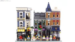 Baixar LEGO Creator Assembly Square review! 10255