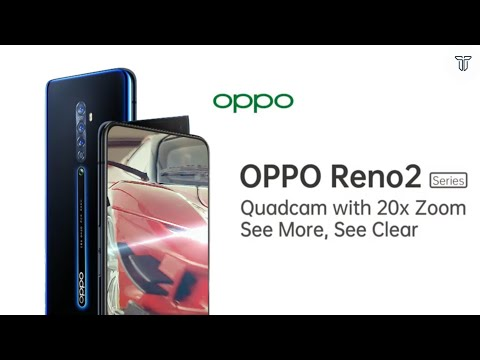 Oppo Reno 2 with quad cameras and 20x zoom to launch in
