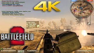 Battlefield 2 Multiplayer 2018 (Highway Tampa) 4K 60fps