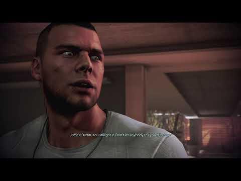 Citadel: Shepard Beats James' Pullup Record - Mass Effect Legendary Edition |
