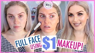 1 Makeup Full Face      First Impressions Tutorial   Shop Miss A