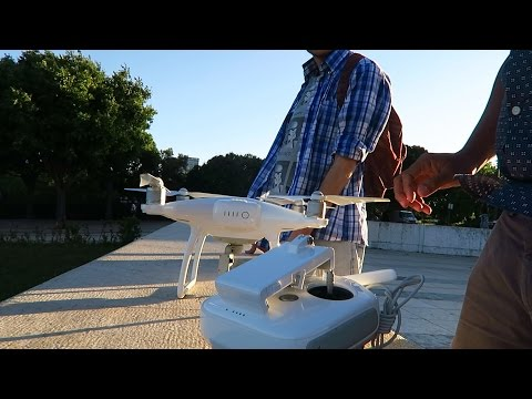 HOW NOT TO GET CAUGHT! Ninja Drone Flying in Lisbon Portugal!