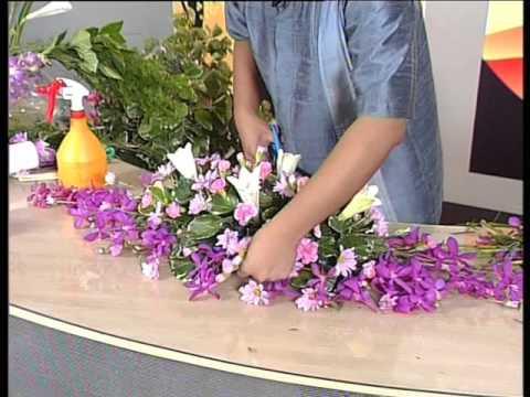 e_RMUTT ตอนที่ 8 เรื่องการจัดดอกไม้หน้าโต๊ะบรรยาย ช่วงที่ 2 8/8