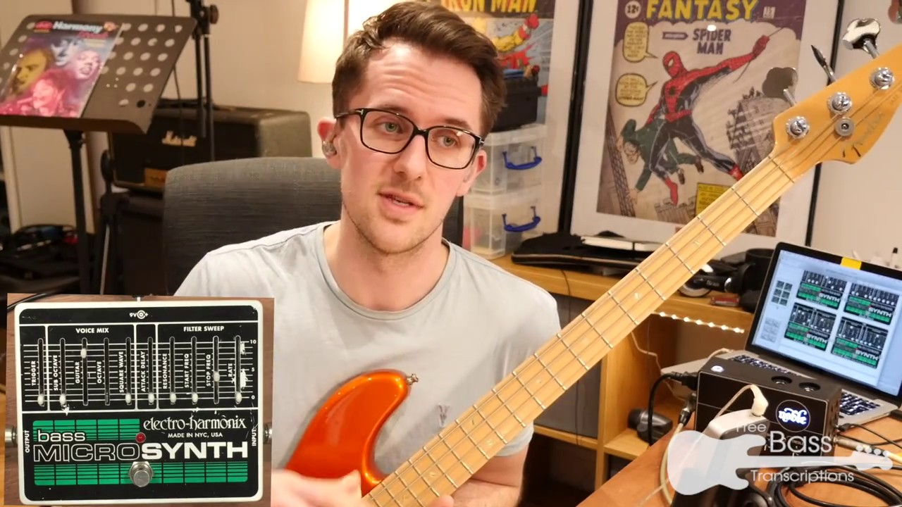 ehx bass micro synth overview demo youtube. Black Bedroom Furniture Sets. Home Design Ideas