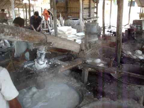 Cambodian Rice Noodle Making Factory MOV05590.MPG