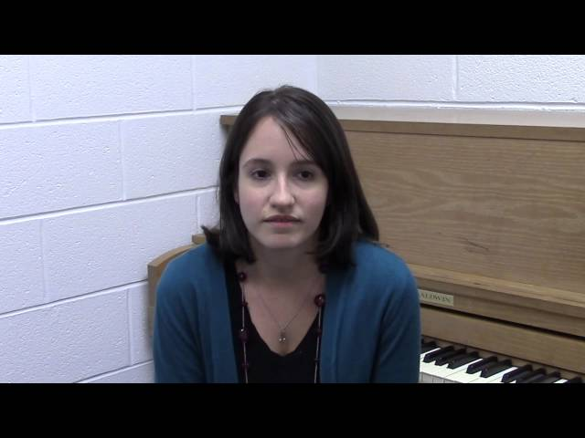 Caldwell University music students talk about their experiences in the music department