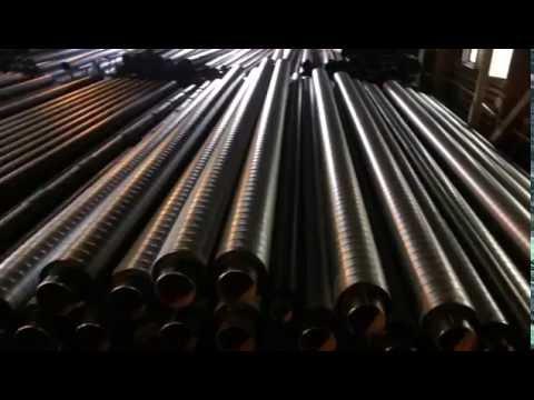УЗТИ. Процесс изготовления трубы ППУ