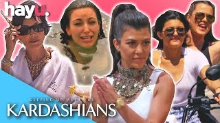 Summer Holidays With The Kardashains 🌴 | Keeping Up With The Kardashians