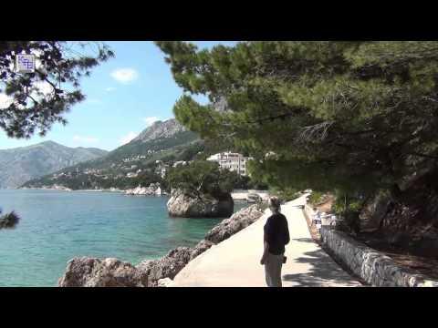 Kroatien - In Brela an der Küste