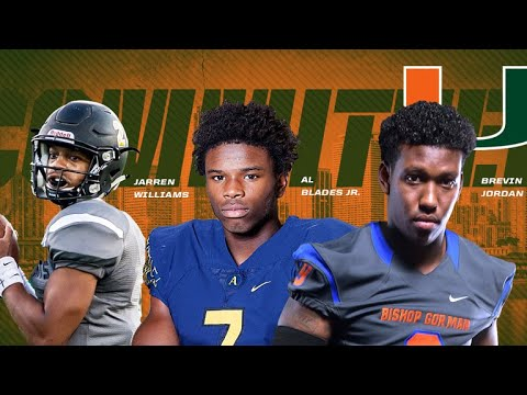 2018 Miami commits - Top 10 Plays