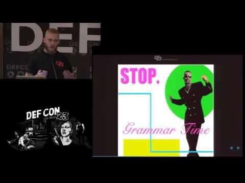 DEF CON 23 - El Sherei and Stalmans - Extending Fuzzing Grammars to Exploit Code Paths