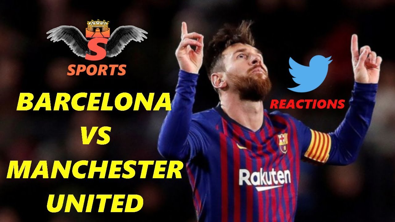 Barcelona vs Manchester United (3-0) Twitter Reactions