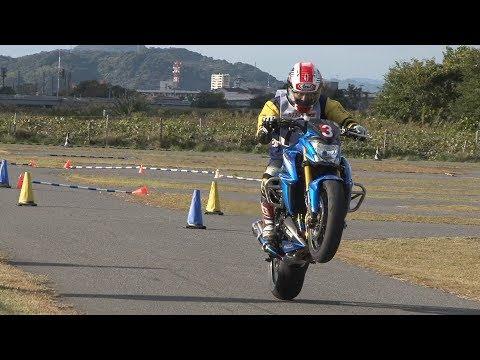 2017 11 19 Dunlop Ehime Moto Gymkhana King of Gymkhana Sakuta 選手 GSX S1000 h 2