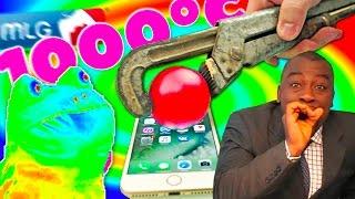 РАСКАЛЕННЫЙ ШАР В 1000 ГРАДУСОВ [MLG montage]