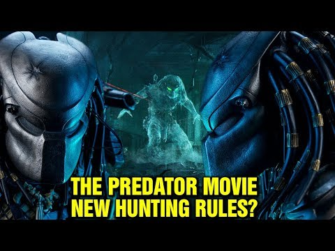 THE PREDATOR: MOVIE  NEW RITUALS OF SPINE RIPPING?  NEW HUNTING RULES? PREDATOR FACE REVEAL
