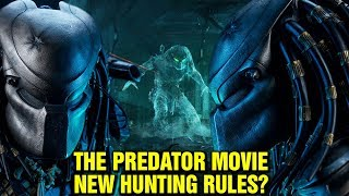 THE PREDATOR: MOVIE - NEW RITUALS OF SPINE RIPPING? - NEW HUNTING RULES? PREDATOR FACE REVEAL