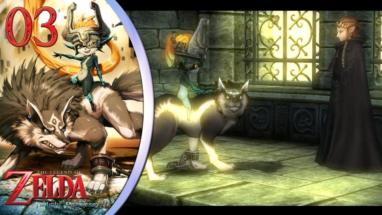 Zelda twilight princess hd 03 el lobo y la princesa del - La princesse zelda ...