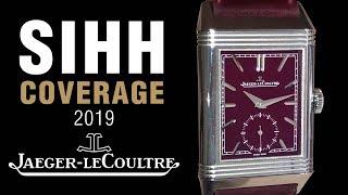SIHH 2019: Jaeger-LeCoultre Master Ultra Thin Perpetual, Gyrotourbillon 3, and More!