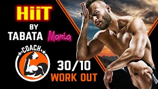 TABATA 30/10 - Workout music w/ TIMER - Electro by TABATAMANIA