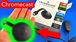 ✅ 9$ Chromecast MiraScreen from AliExpress unboxing