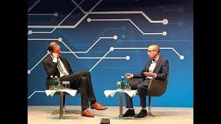 Yuval Noah Harari Speaking with Mathias Döpfner - BDZV Conference 2018