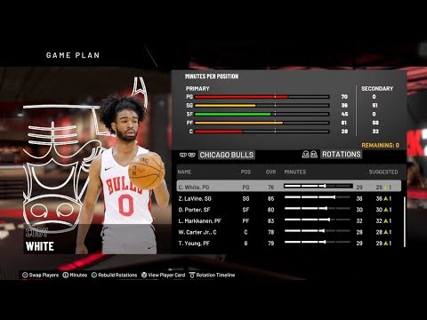 How To Assign A Created Player To A Team In NBA 2K20 Step By Step