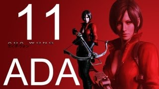 Resident Evil 6 walkthrough - part 11 HD ADA walkthrough gameplay RE6 Full ada walkthrough
