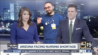 *abc NEWS* NURSING SHORTAGE IN USA IS A SERIOUS ISSUE