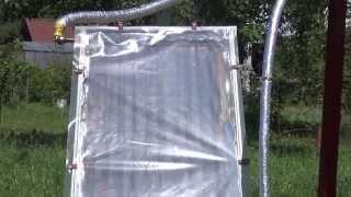 Солнечный Коллектор для дачи  Продолжение обзор системы