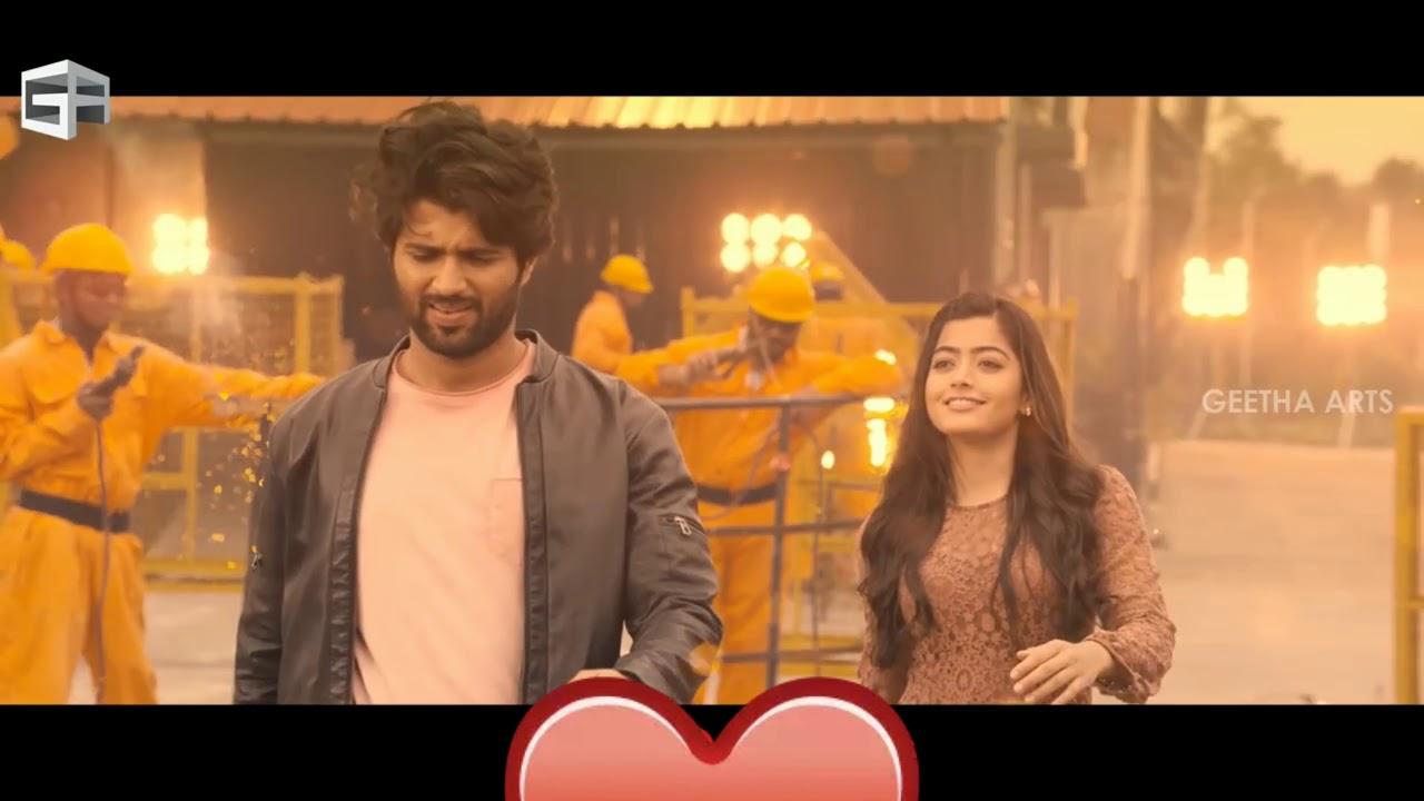 Download #Pogiren Song by Mugen Rao and Vel. Movie clip-Geetha Govindam Rashmika & Vijay
