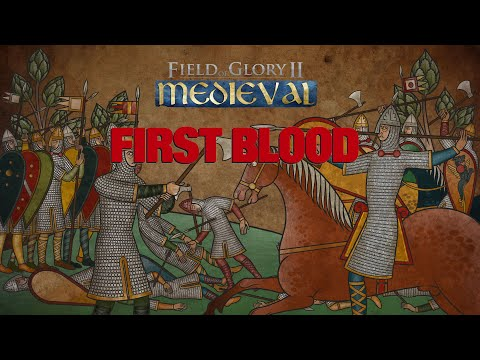 Field of Glory II  Medieval First Blood Tournament Norman  Battle |