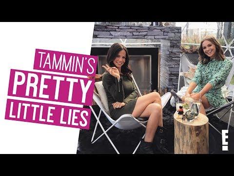 Tammin Sursok's PRETTY LITTLE LIES | DIGITAL EXCLUSIVE | The Hype | E!