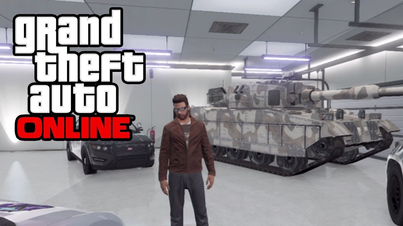 where is my tank gta 5 online