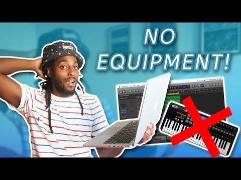 MAKING A BEAT USING NO EQUIPMENT! (Just My Laptop)