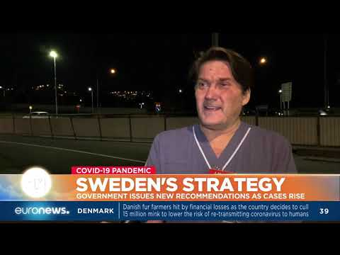 Coronavirus in Sweden: Government issues new recommandations as cases rise