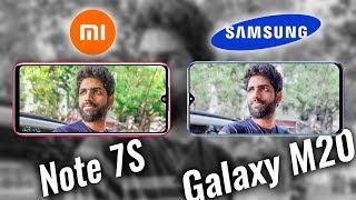 Redmi Note 7 vs Samsung Galaxy M20 Camera Test / Comparison