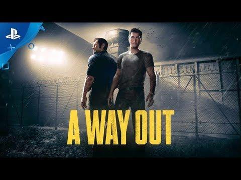A Way Out - PS4 Reveal Trailer | E3 2017