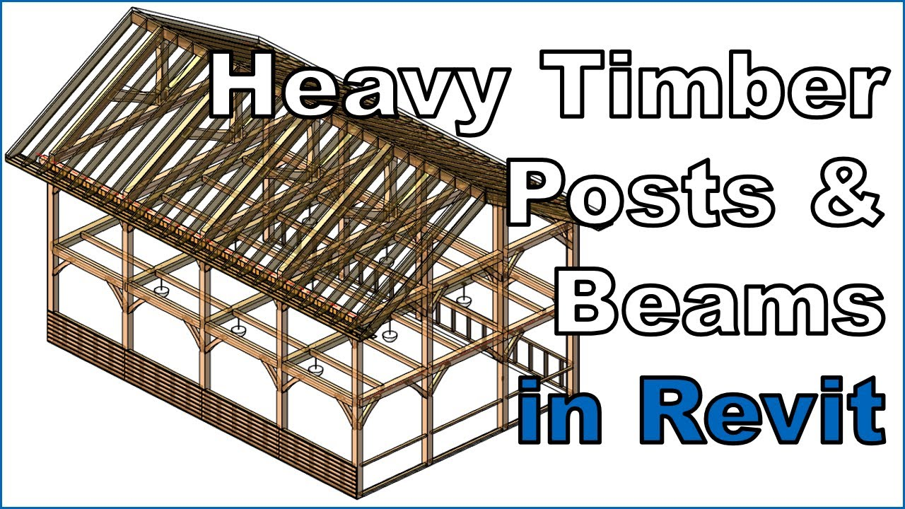 Framing Timber Walls in Revit® Model | Wood Framing Wall+