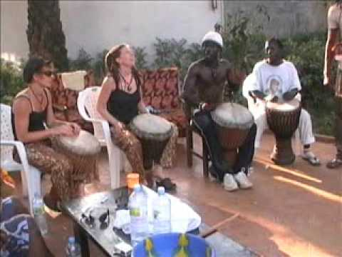 African Drumming Holidays in Guinea