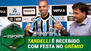 SBT Esporte - 14/02/19 - programa completo - Tardelli é recebido com festa no Grêmio