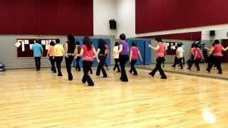 Brazilean Samba - Line Dance (Dance & Teach in English & 中文)