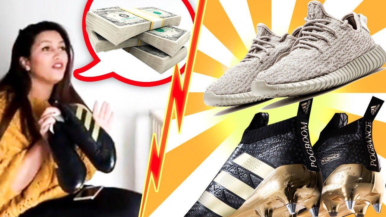 Ses Pogbance Je Sneakers PrankYeezy Sur Ace Internet Vend CxerBdo
