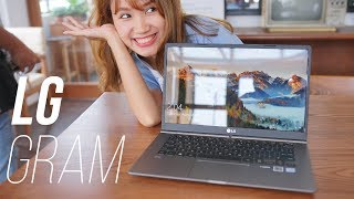 LG Gram: Laptop siêu nhẹ chưa tới 1kg, pin khoẻ